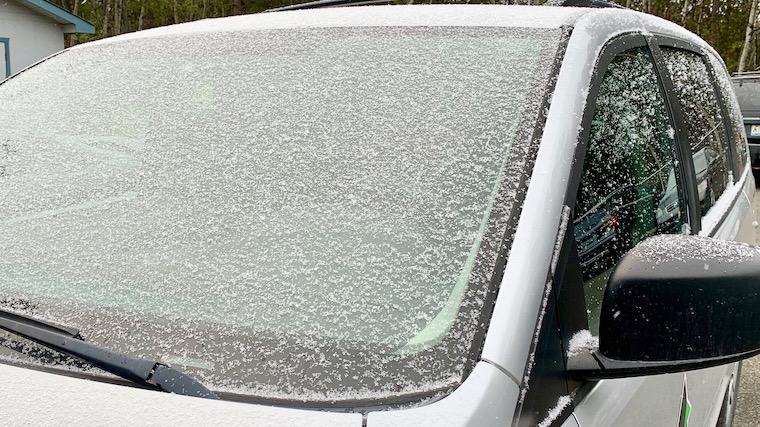 ユーコンニュース 初雪 ホワイトホース